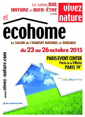 Ecohome le salon de l 39 habitat naturel et durable paris for Salon de l habitat 2017 paris