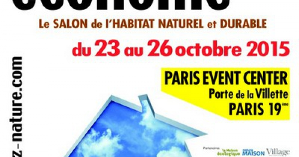 ecohome le salon de l 39 habitat naturel et durable paris